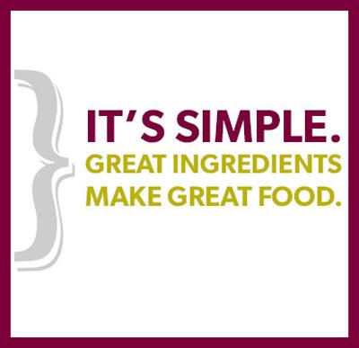 Great Ingredients Great Food