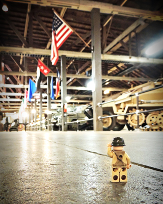 Lego Guy Military Museum