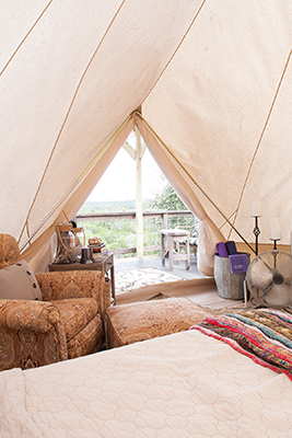 The Texas Bell Glamping