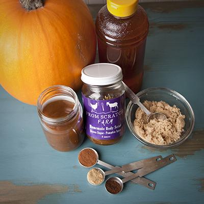 From Scratch Farm Pumpkin Spice Body Scrub